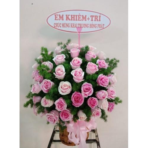 Bộ sưu tập mẫu hoa chúc mừng khai trương tại thành phố Quảng Ngãi