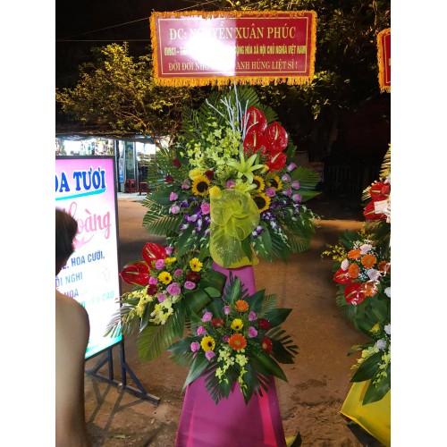 Bộ sưu tập mẫu hoa chúc mừng khai trương tại Bình Sơn