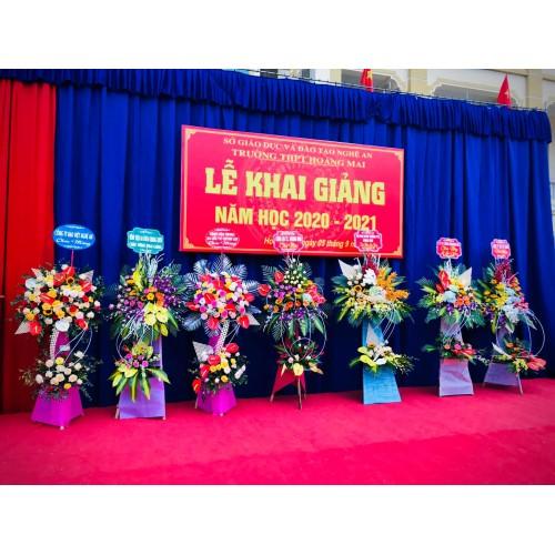 Bộ sưu tập mẫu hoa chúc mừng khai trương tại Vinh
