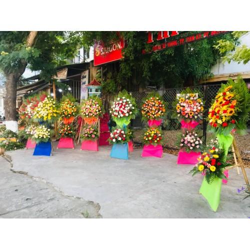 Bộ sưu tập mẫu hoa mừng khai trương tại Tam Kỳ