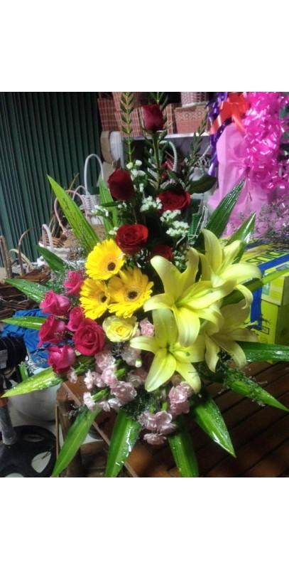 Hoa sinh nhật trung