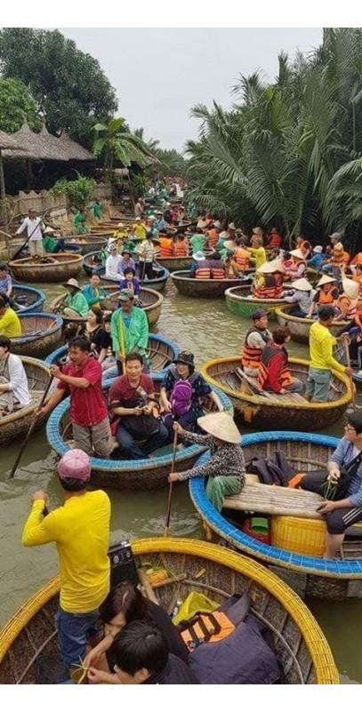 Vé thuyền thúng Hội An (trẻ em)
