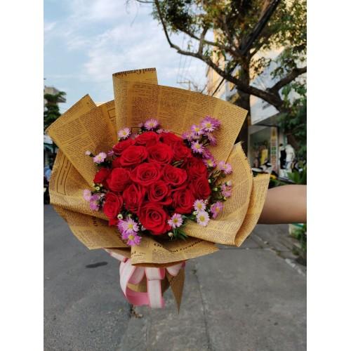 Bộ sưu tập những mẫu hoa bó chúc mừng tại Quảng Ngãi
