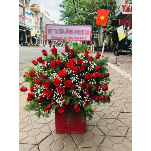 Những mẫu hoa chúc mừng đẹp tại thành phố Quảng Ngãi