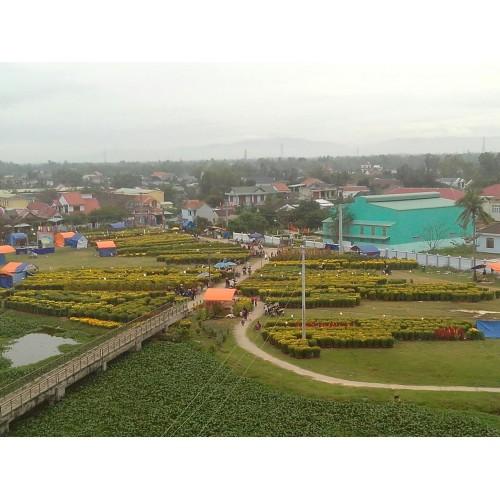 Đặt hoa thị trấn Hà Lam, Thăng Bình