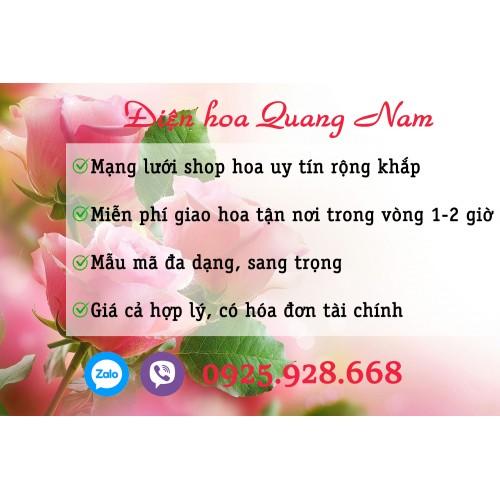 Gửi điện hoa huyện Duy Xuyên
