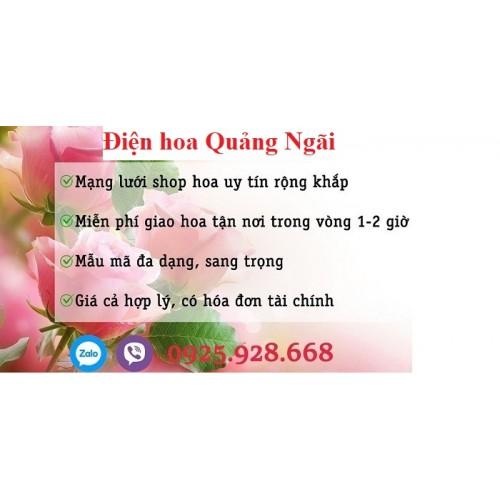 Đặt hoa thành phố Quảng Ngãi