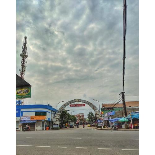 Đặt hoa thị trấn Nam Phước, Duy Xuyên