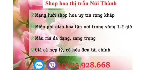 Shop hoa thị trấn Núi Thành - Quảng Nam