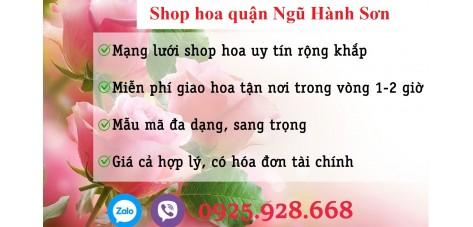 Shop hoa quận Ngũ Hành Sơn - Đà Nẵng