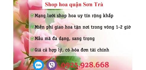 Shop hoa quận Sơn Trà - Đà Nẵng