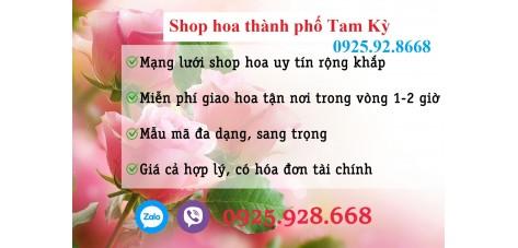 Shop hoa tươi Tam Kỳ, Quảng Nam
