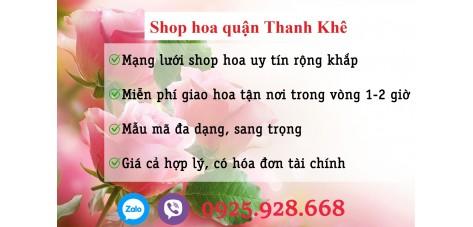 Shop hoa quận Thanh Khê - Đà Nẵng