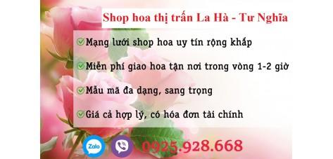 Shop hoa thị trấn La Hà - Quảng Ngãi