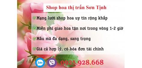 Shop hoa thị trấn Sơn Tịnh - Quảng Ngãi