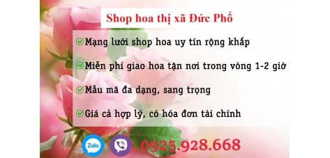 Shop hoa thị xã Đức Phổ - Quảng Ngãi