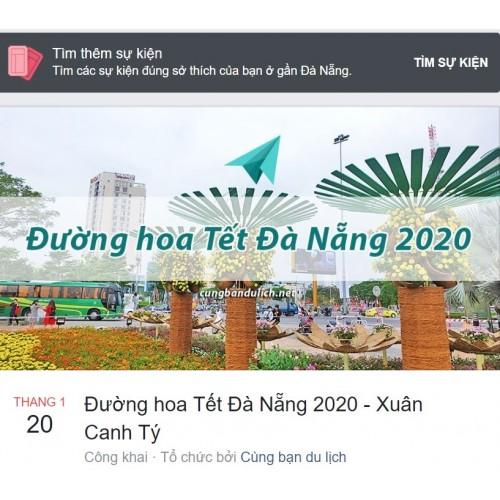 Đường hoa Tết Đà Nẵng 2020