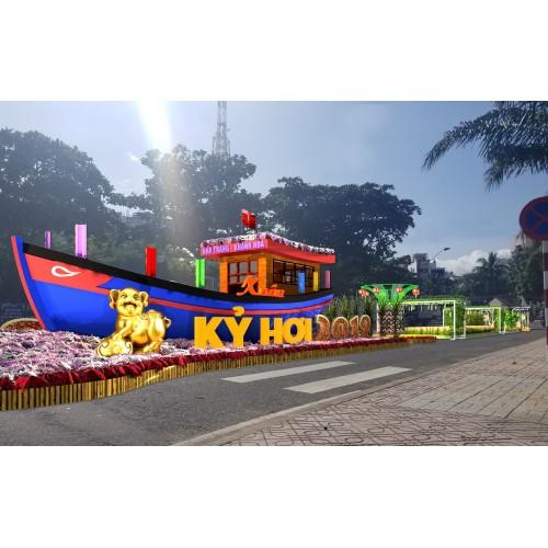 Hội Hoa xuân Nha Trang - Khánh Hòa 2021