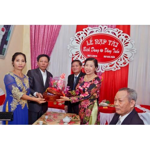Lễ nạp tài trong phong tục cưới hỏi