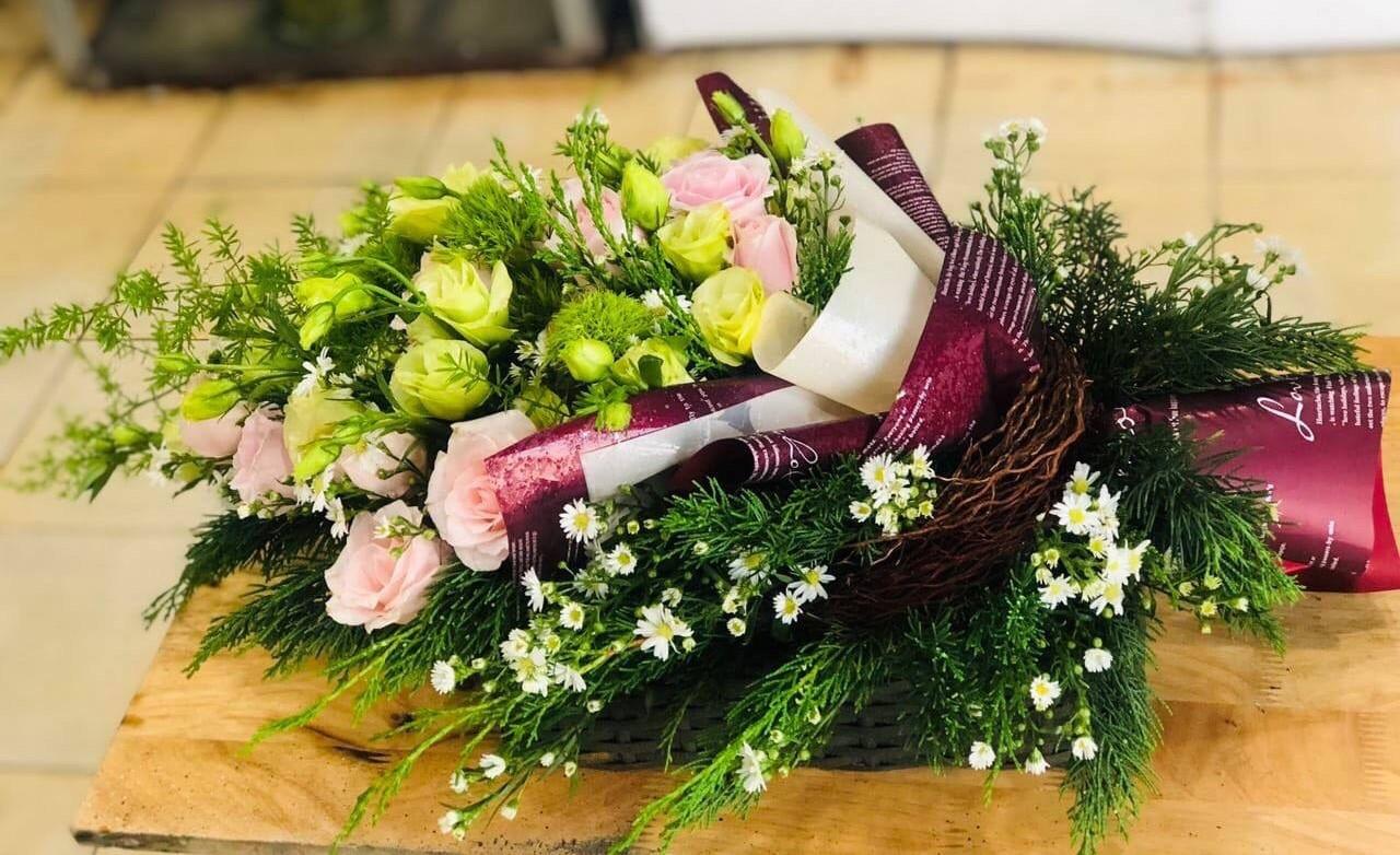 Bó hoa đơn giản tặng người thân