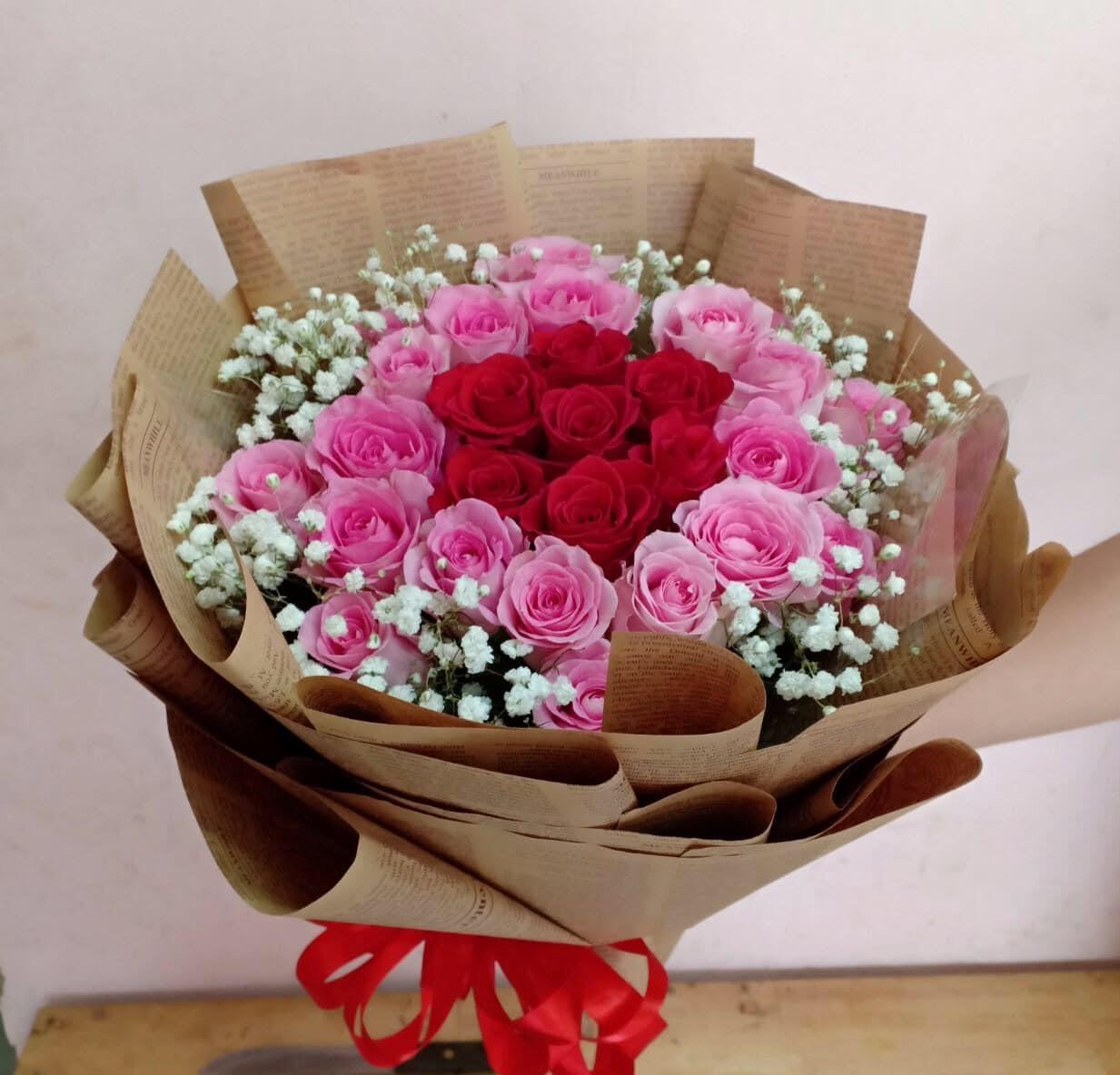 Shop hoa thị trấn Châu Ổ