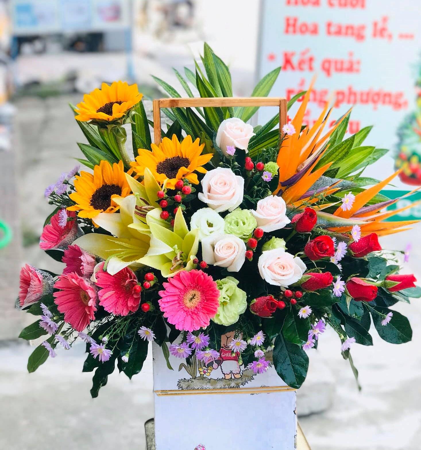 Cửa hàng hoa tươi thị trấn Châu Ổ