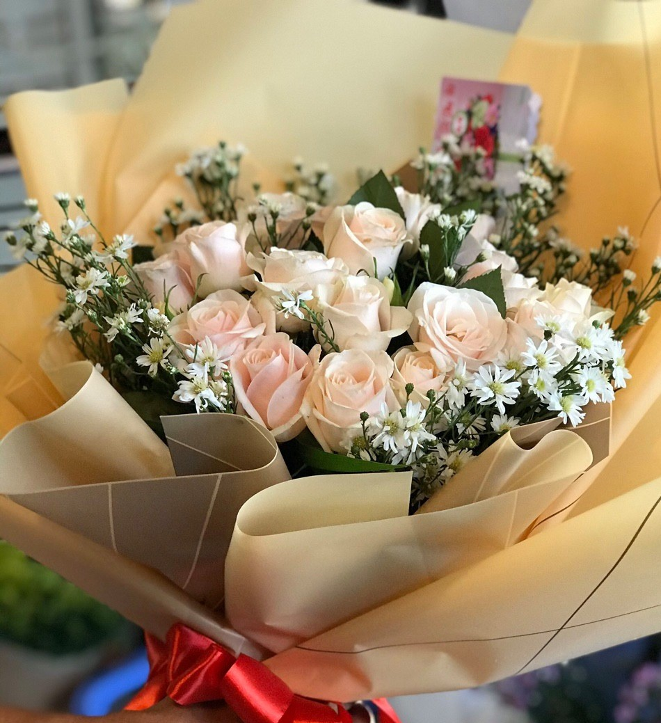 Cửa hàng hoa nha trang