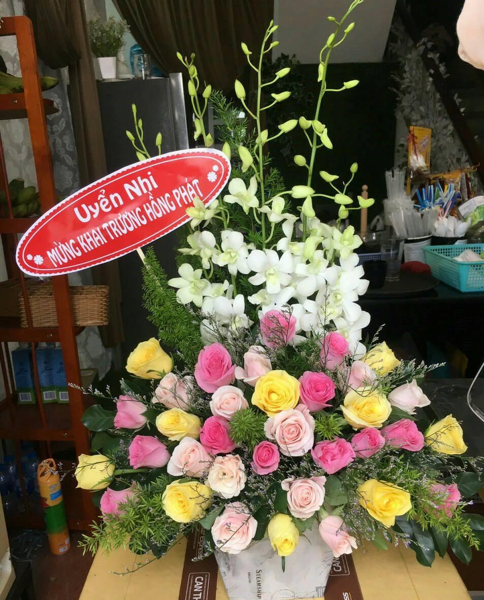 Hoa mừng sinh nhật thành phố nha trang