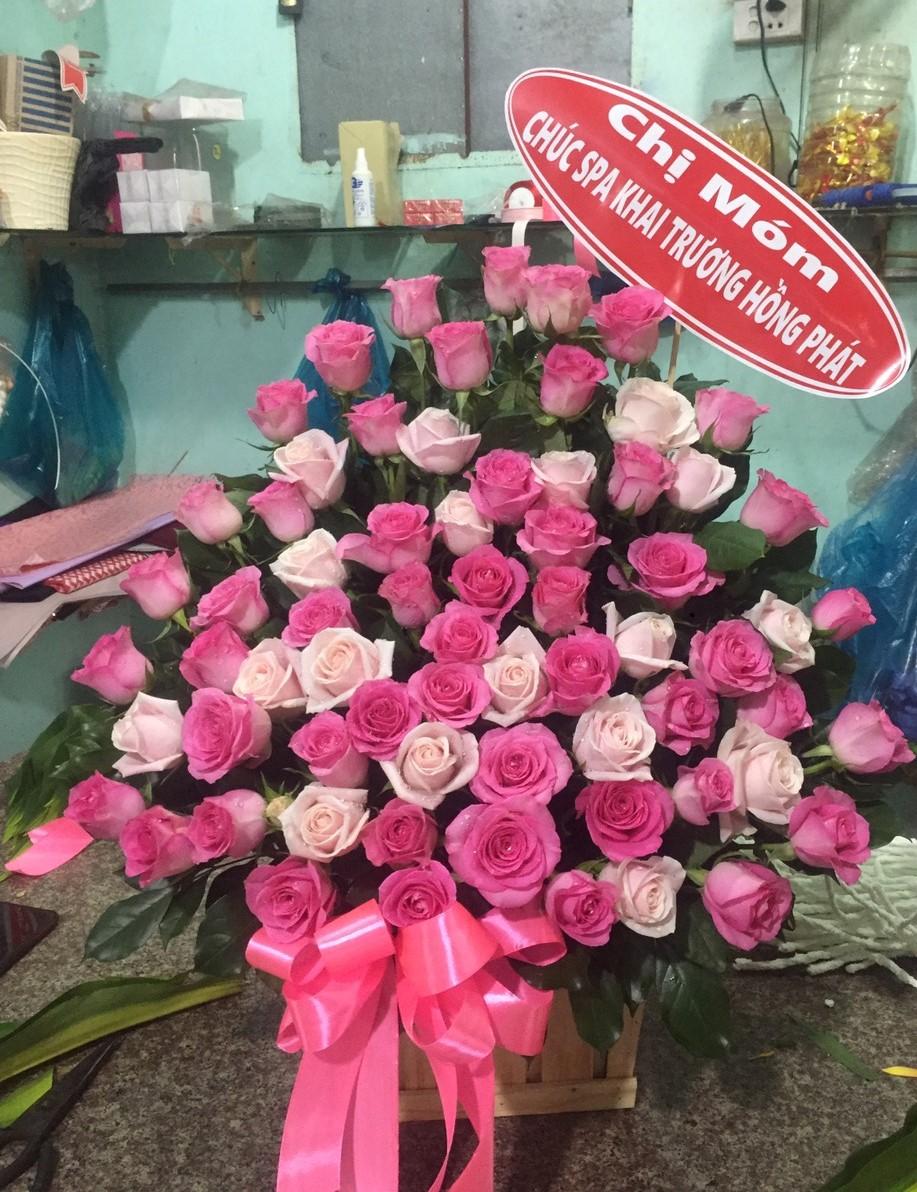 Điện hoa mừng sinh nhật thành phố Nha trang