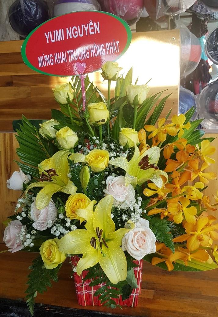 Điện hoa sinh nhật nha trang