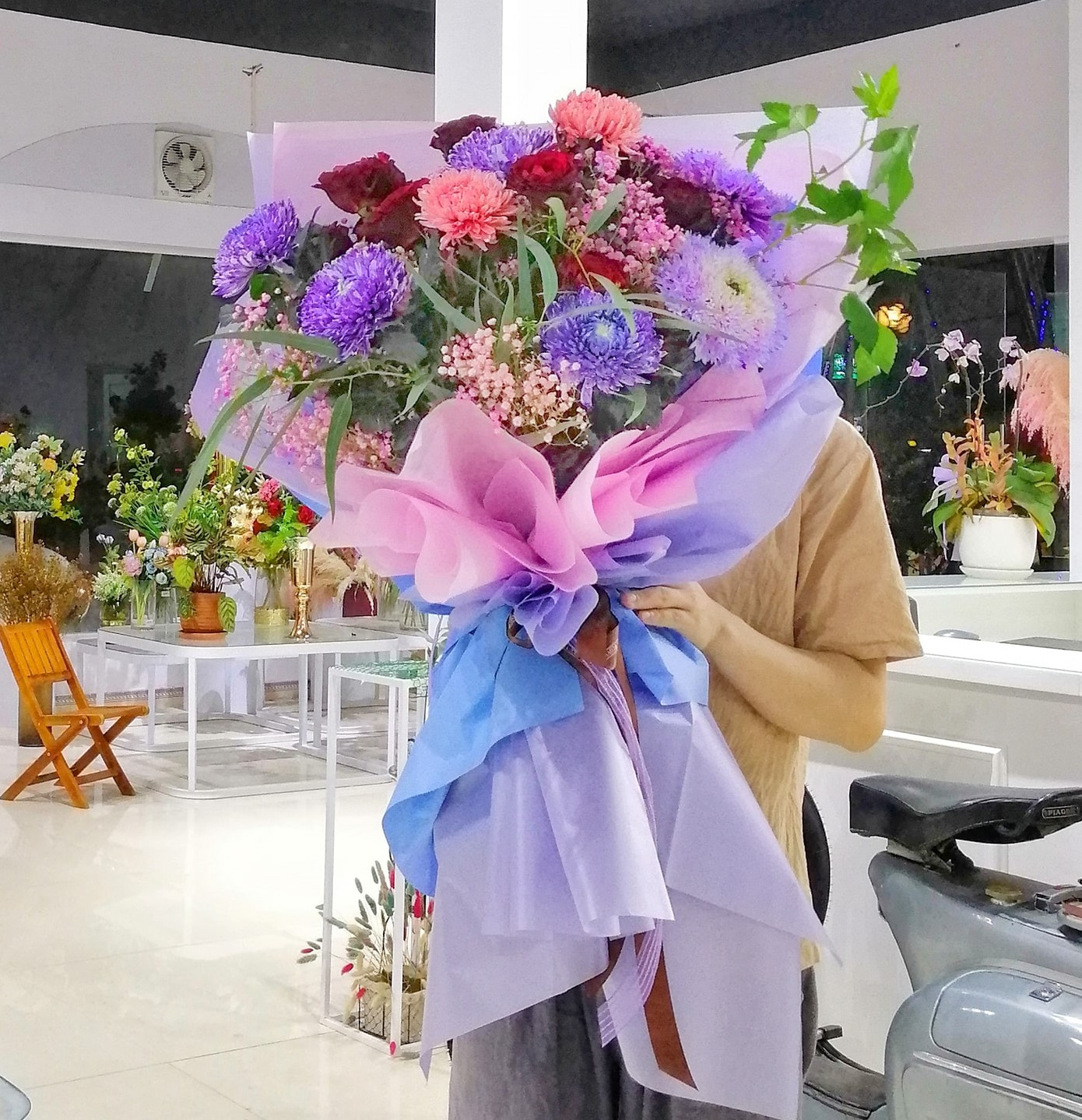 Cửa hàng hoa thành phố Vinh