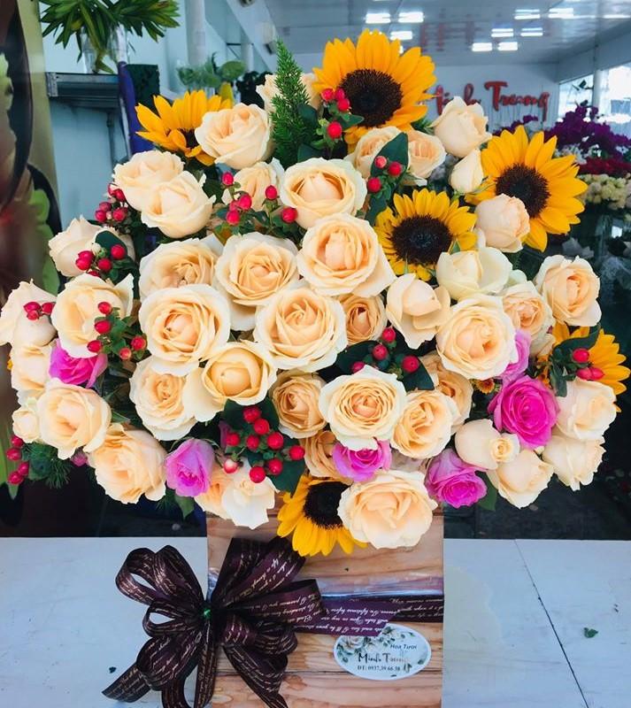 Gửi điện hoa Vinh
