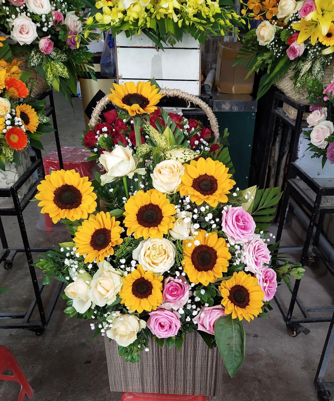 Shop hoa tươi thành phố Vinh nghệ an