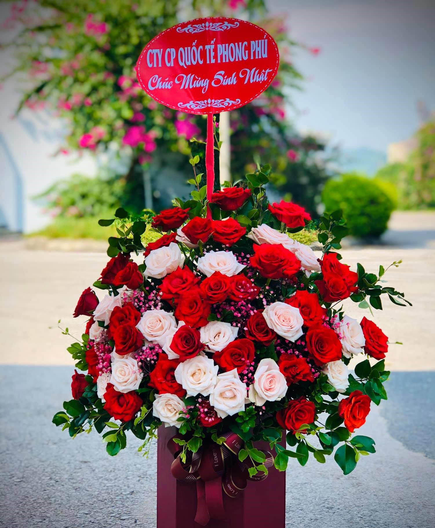 Gửi điện hoa sinh nhật thành phố Vinh