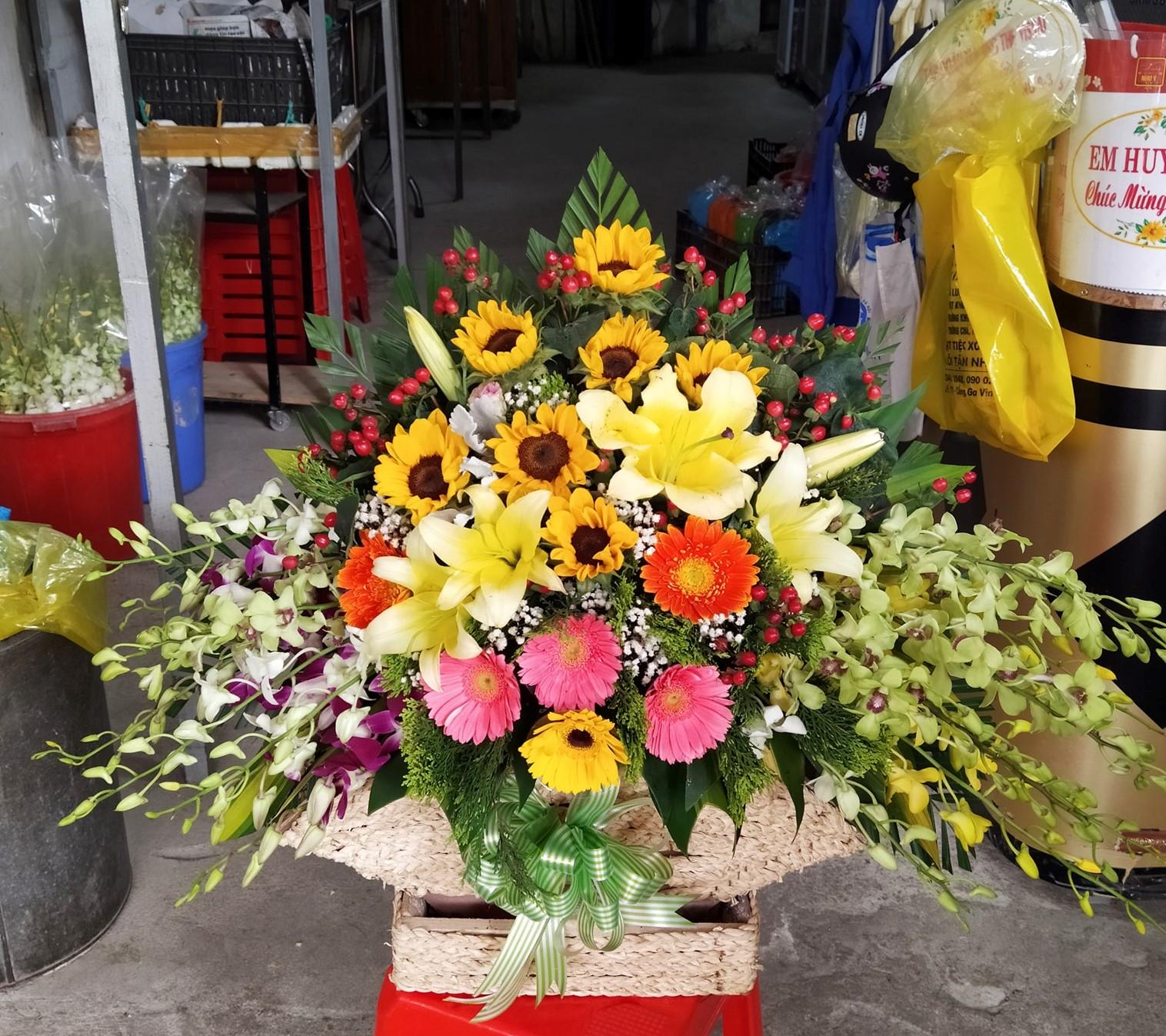 Cửa hàng hoa tươi thành phố Vinh