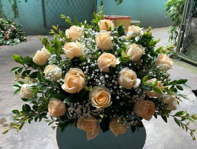 Bó hoa mừng sinh nhật đẹp