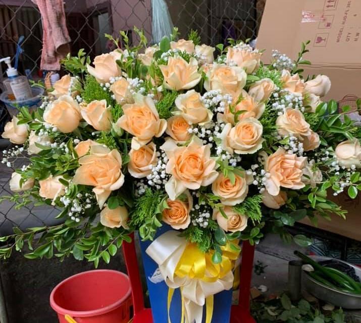 Điện hoa mừng sinh nhật thành phố Vinh