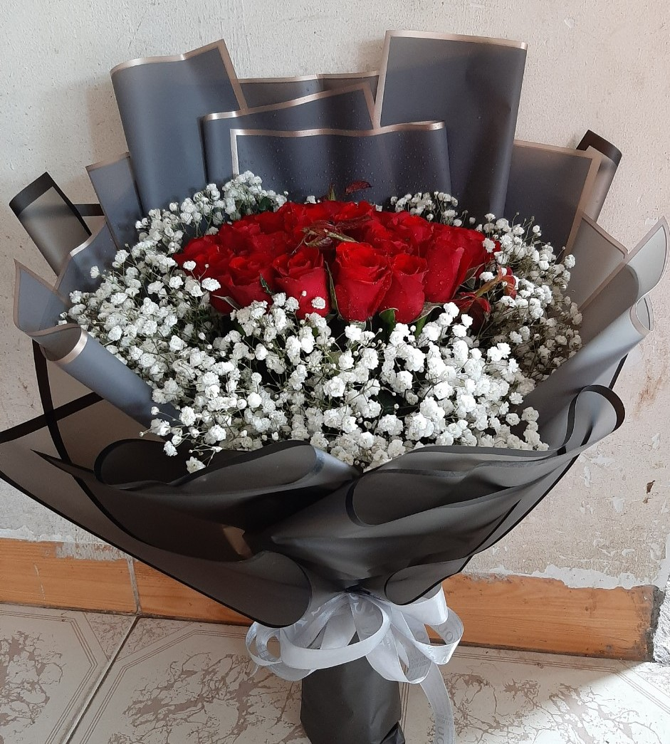 Giỏ hoa sinh nhật Vũng Tàu đẹp