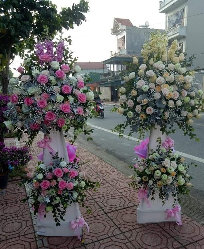 Shop hoa tươi châu ổ