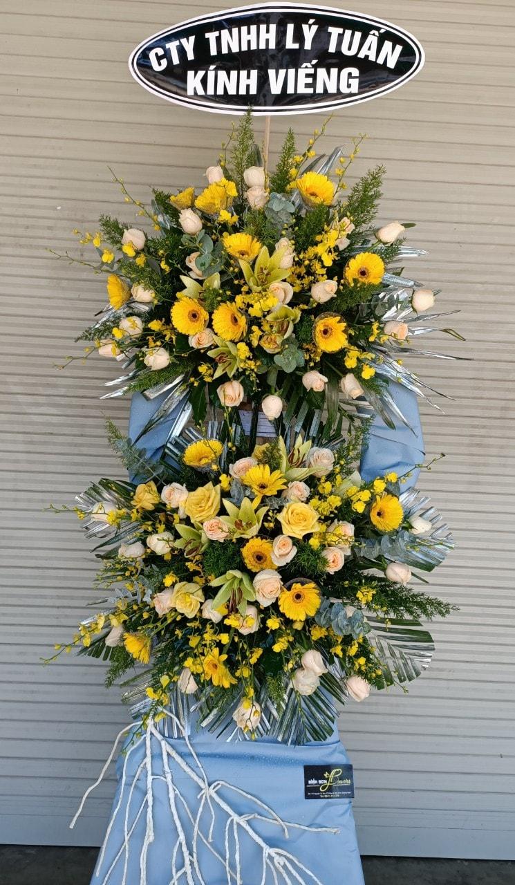 Hoa chia buồn đám tang châu ổ