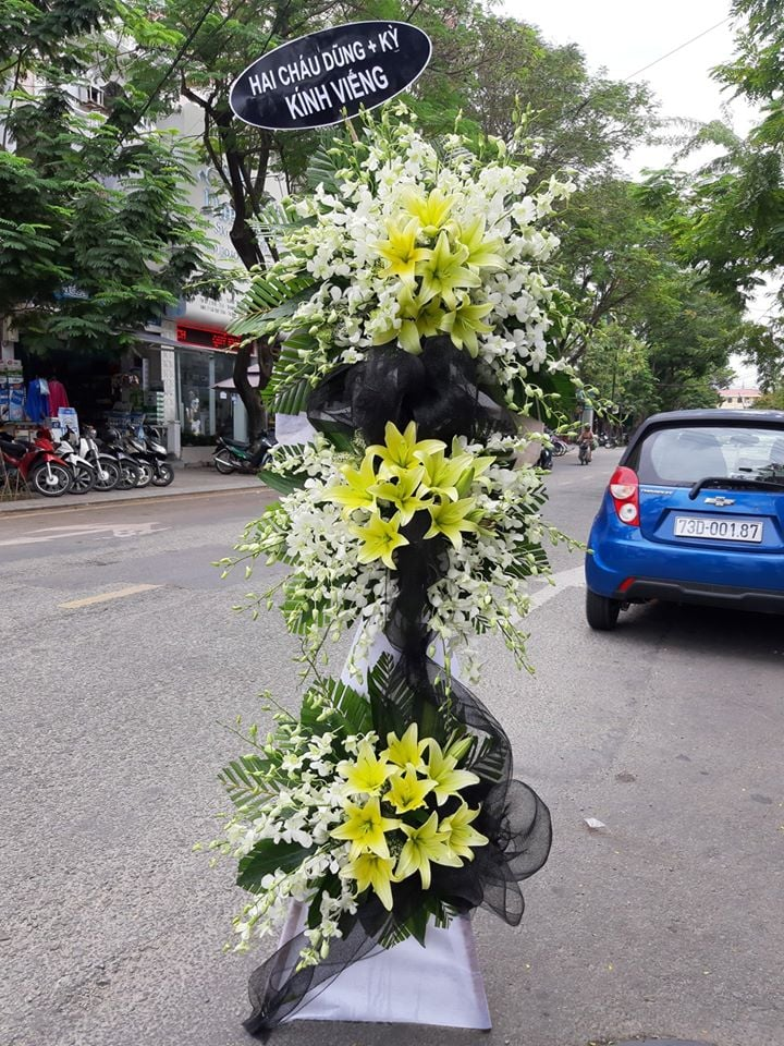 Shop hoa thành phố Huế