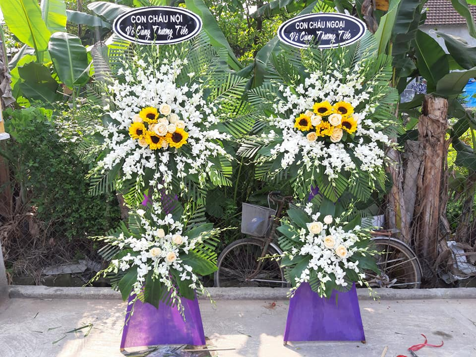Shop hoa Huế - Điện hoa chia buồn Huế