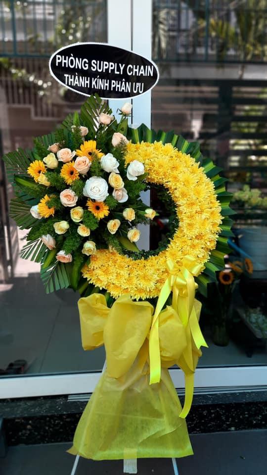 Gửi hoa chia buồn đám tang thành phố nha trang