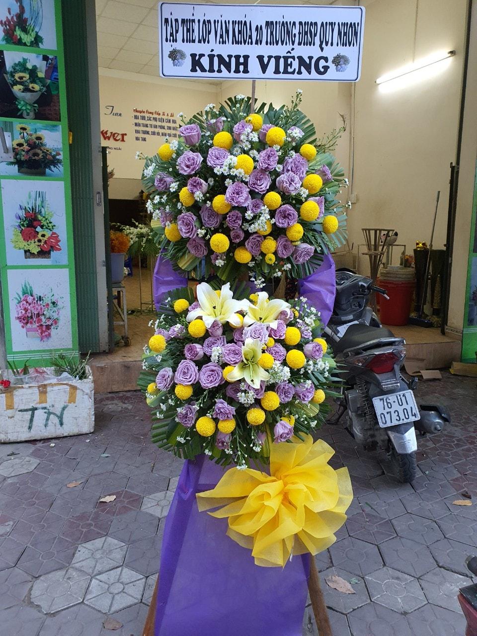 Shop hoa thành phố Quảng ngãi