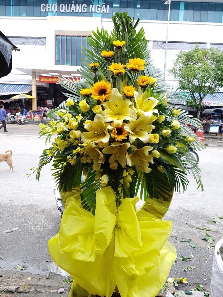 Gửi điện hoa chia buồn thành phố Quảng Ngãi