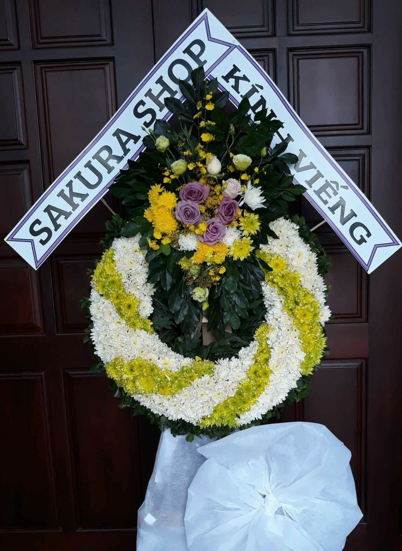 Gửi điện hoa chia buồn đám tang