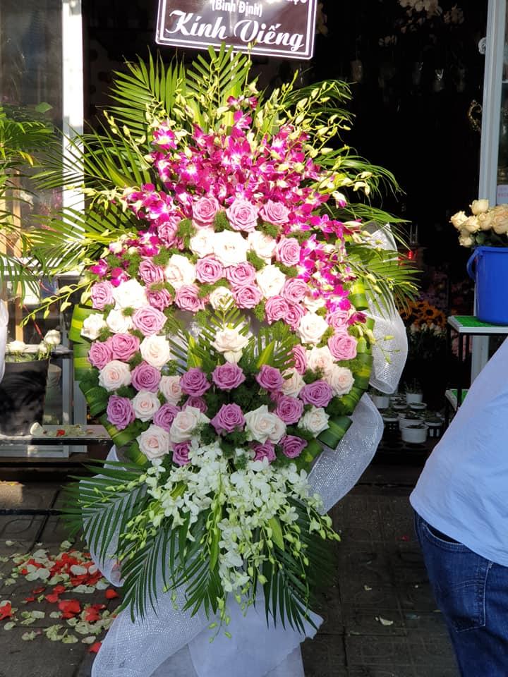 Hoa chia buồn đẹp Tam Kỳ