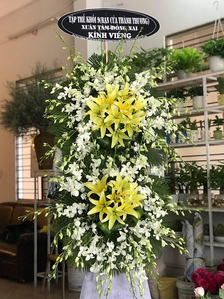 Hoa chia buồn đám tang Vũng Tàu