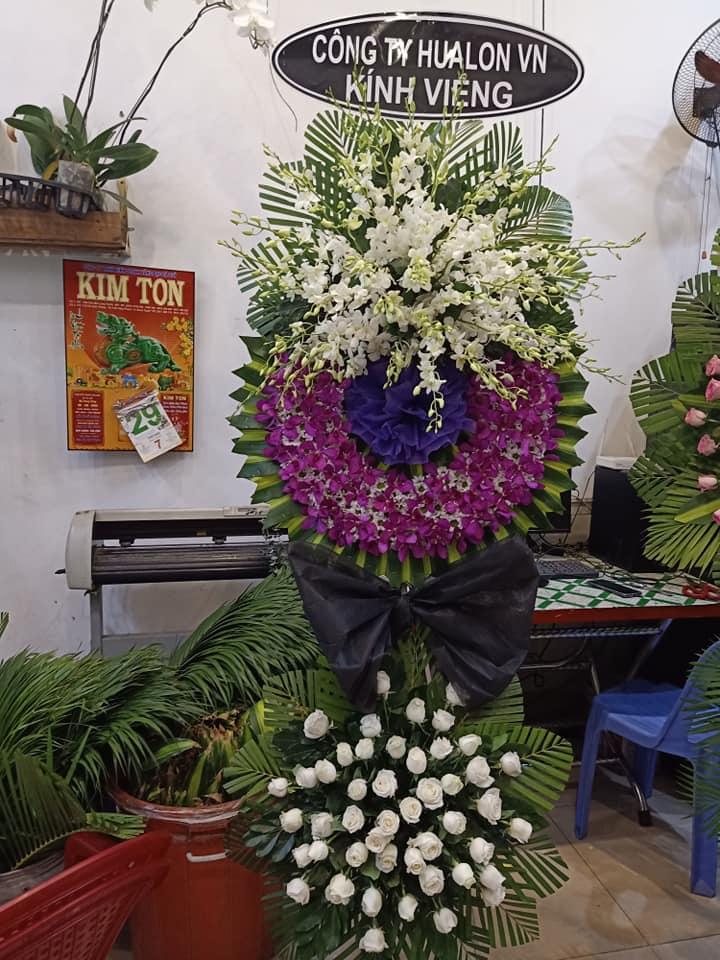 Hoa viếng đám tang Vũng Tàu