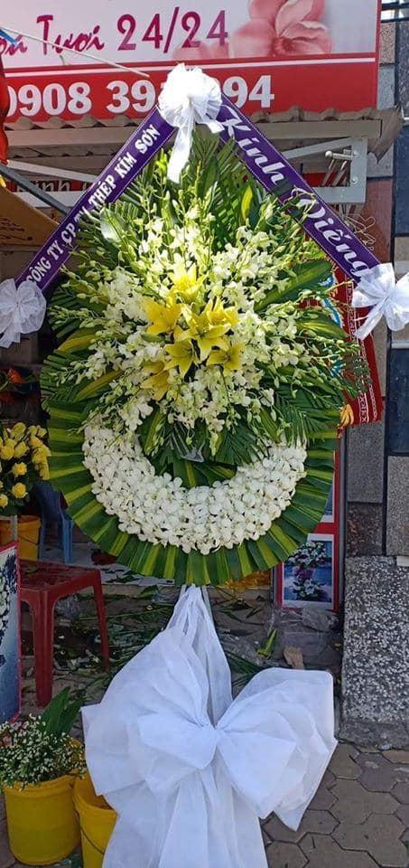 Hoa chia buồn đám tang thành phố Vinh